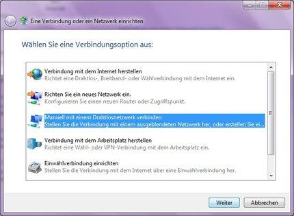 Wlan über Eap Unter Windows 7 Zentrum Für Informations Und